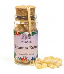 Olibanum Erytrea (Boswellia sacra) kadzidło żywiczne (szklana buteleczka z korkiem) 17 g 30 ml Flora Perpetua