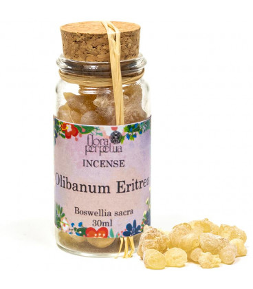 Incense resin Olibanum Eritrea -- 17 g  30 ml