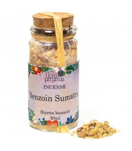 Incense resin Benzoe Sumatra -- 21 g  30 ml