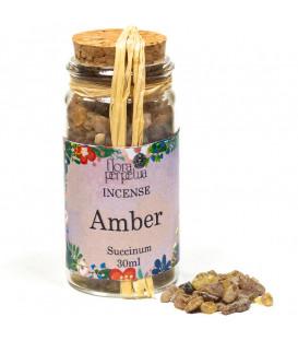 Incense resin Amber -- 16 g  30 ml