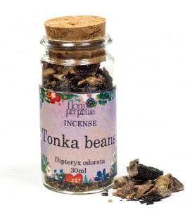 Fasolka tonka - kadzidło żywiczne (szklana buteleczka z korkiem) 20g 30ml Flora Perpetua