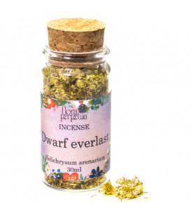 Wieczny Kwiat (Everlasting Flower) - ziołowe kadzidło (szklana buteleczka z korkiem) 3 g 30 ml Flora Perpetua