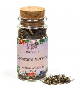 Werbena - kadzidło ziołowe (szklana buteleczka z korkiem) 25 g 30 ml Flora Perpetua
