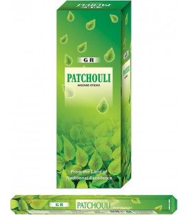 Incense Patchouli hexagon package -- 20 g