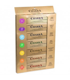 Incense 7 Chakra collection -- 15 g