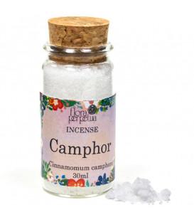 Kamfora naturalna - Kadzidło żywiczne (szklana buteleczka z korkiem) 13g 30 ml Flora Perpetua
