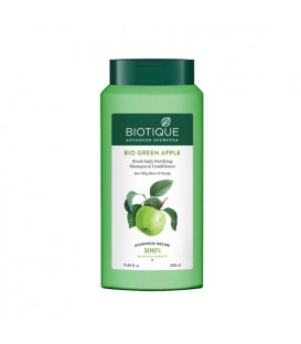 Biotique bio green apple shampoo & conditioner  340ml