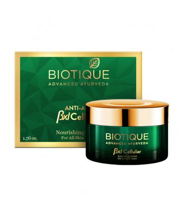 Krem ujędrniający i wygładzający Biotique BIO BXL Cellular NOURISHING 50g Biotique Advanced Ayurveda