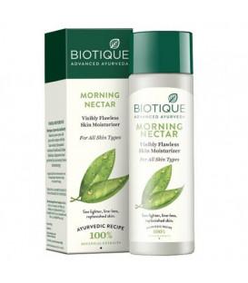 Bio Morning Nectar - Lotion nawilżająco - rozświetlający skórę 120ml Biotique