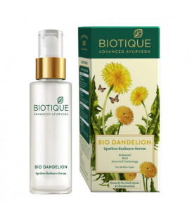 Biotique BIO DANDELION (SPOTLESS RADIANCE SERUM) 30 ML 30ml