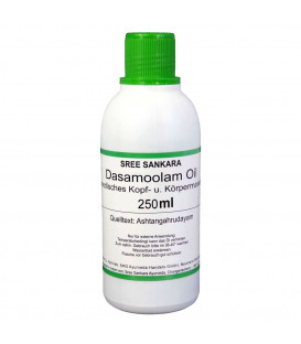 Olej do masażu Dashamula (Dasamoolam) Oil Sree Sankara 250ml