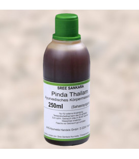 Ajurwedyjski olej do masażu Pinda Thailam 250 ml Sree Sankara