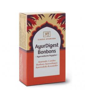 Ajurwedyjskie Karmelki na Trawienie AyurDigest Bonbons, 50 g Classic Ayurveda