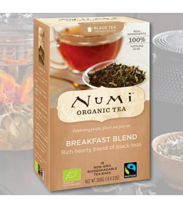 Organiczna herbata Breakfast Blend, 18 torebek, Numi Tea