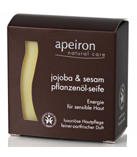 BIO Mydło Organiczne Ajurwedyjskie z Olejkiem Sezamowym i Jojoba, 100 g Auromere