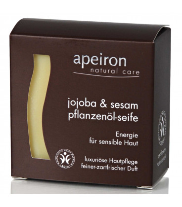 Jojoba & Sesame Natural Herbal Oil Soap Auromére, 100 g