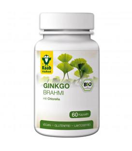 Brahmi-Ginkgo & Chlorella organic, 60 capsules (33 g)