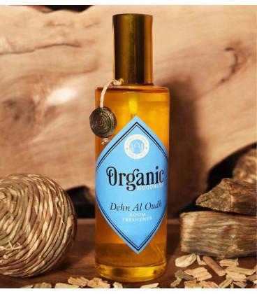 100 ml. Organic Goodness Room Freshener in Amber Bottle Agarwood