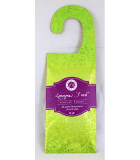 Wisząca saszetka zapachowa Trawa Cytrynowa 20 g. Little Pleasures Potpourri