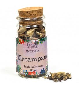 Oman (Inula helenium) kadzidło ziołowe (szklana buteleczka z korkiem) 14g 30 ml Flora Perpetua