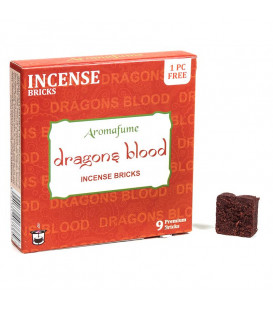 Brykiet zapachowy - Dragons Blood, 9sztuk, 40g Aromafume