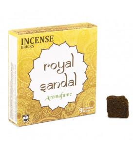 Brykiet zapachowy - Royal Sandal, 9 sztuk, 40g Aromafume