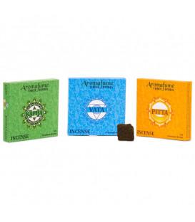 Brykiet zapachowy - 3 dosha, 9 sztuk, 40g Aromafume