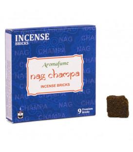 Brykiet zapachowy - Nag Champa, 9 sztuk, 40g Aromafume