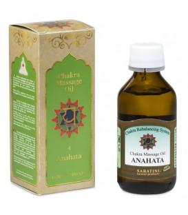 Olej do masażu Chakra 4 Serca Anahata 100ml Sabatini, Fiore D'Oriente