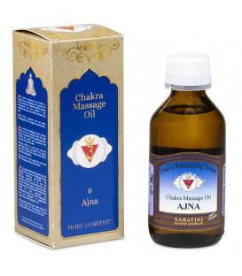 Olejek do masażu 6 Czakra Ajna Trzecie Oko, 100 ml, Sabatini