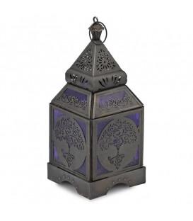 Nastrojowa Lampa Świecznik Oriental Yoga Tree 9,5x23 cm