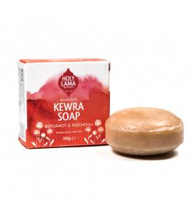 Mydełko Kokosowe Kewra z nutą Bergamotki i Patchouli 100g Holy Lama Naturals