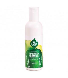 Ajurwedyjski szampon na bazie oleju kokosowego z olejkiem lawendowym, 200 ml, Holy Lama Naturals