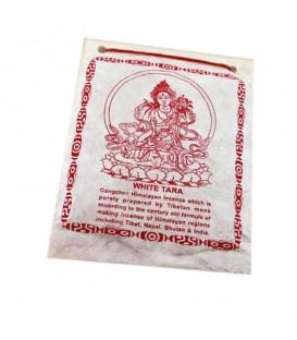 Kadzidło tybetańskie w proszku White Tara 40 g Gangchen