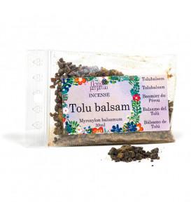 Tolu Balsam - kadzidło żywiczne (szklana buteleczka z korkiem), 14g 30 ml, Flora Perpetua