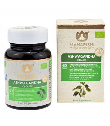 Ashwagandha 60 tabletek, 30g Maharishi Ayurveda