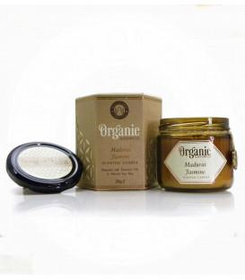 Świeca sojowa z olejkiem eterycznym - Mandurai Jaśmin 200 g. Organic Goodness