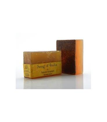 Mydło glicerynowe z pilingiem orzechowym z dodatkiem olejku Neroli, 125 g. Song of India