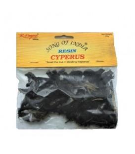 Kadzidło w suszu Cyperus (Cyperus scariosus) - Mustaka, Nagarmotha 25 g. Song of India