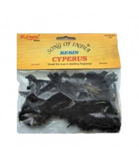Kadzidło w suszu Cyperus (Cyperus scariosus) - Mustaka, Nagarmotha, Duża paczka 1kg. Song of India