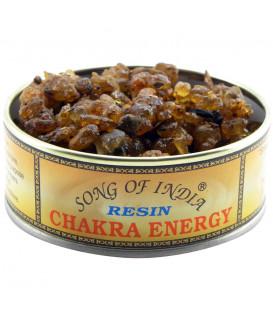 Kadzidło żywiczne ENERGIA CZAKRY 3 elementowe Chakra Energy, 1 kg. Song of India