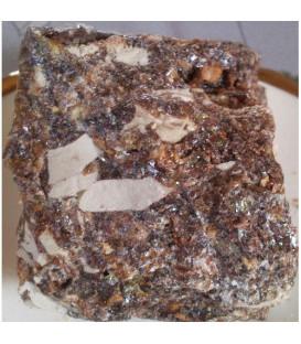Żywica Ciemna Ambra bursztynowa w naturalnej nieskruszonej formie - opakowanie zbiorcze w folii, 1 kg. Song of India