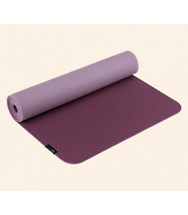 Mata do jogi Yogimat PRO Kolor: Bordo/Lila, 183cm x 61cm x 5mm Biodegradowalna pianka TPE
